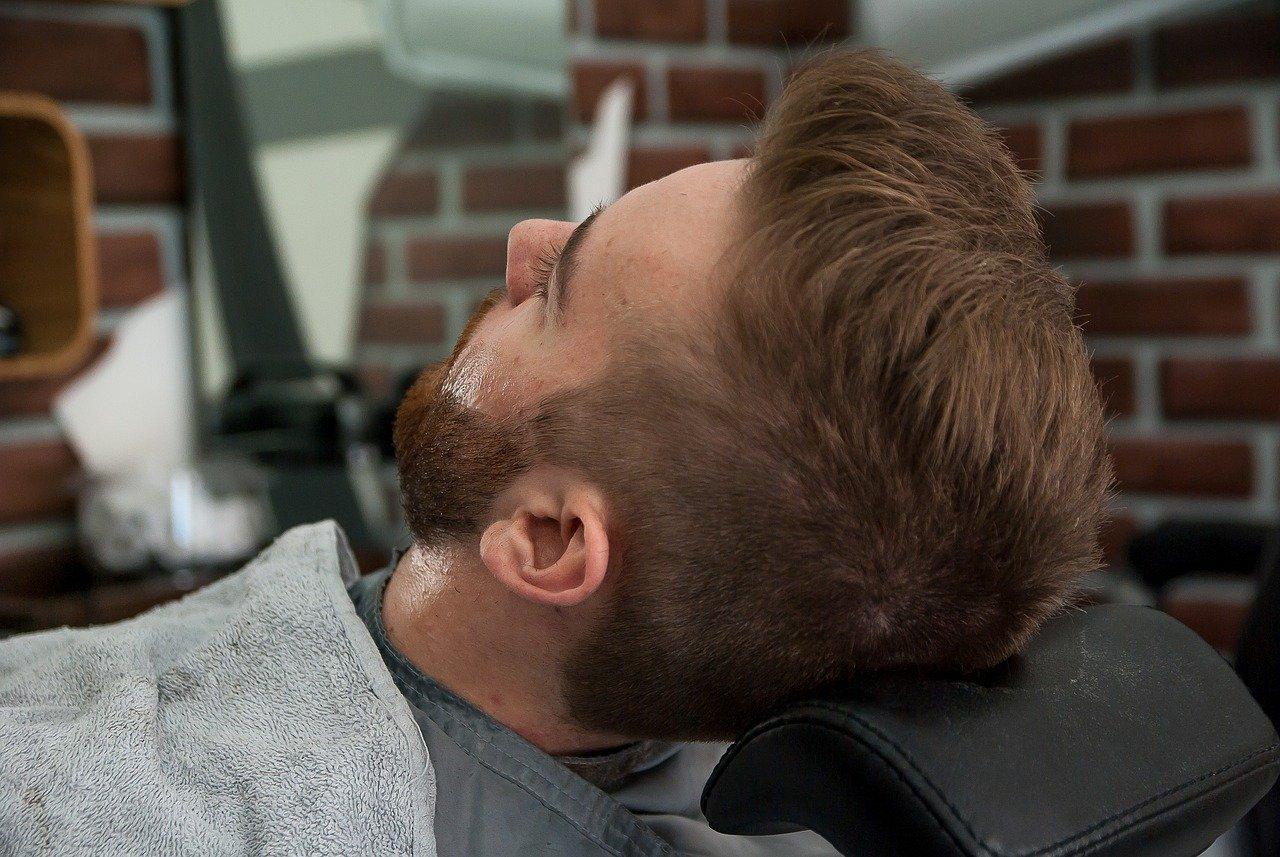 étapes de rasage
